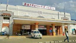 Tiruchi railway junction