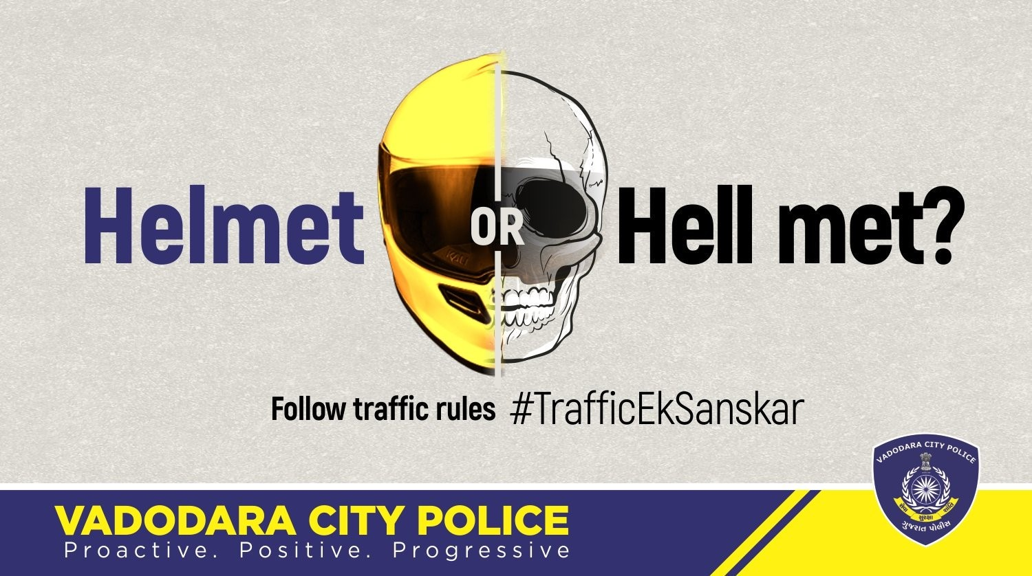 Gujarat Police is using Social Media to create awareness for road safety