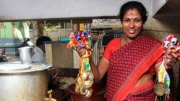 Kalaimani, a marathoner who has achieved 4 times gold