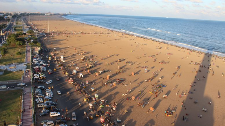 Marina beach to get sea viewing seats CCTV cameras e-toilet and many more