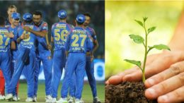 Rajasthan Royals support Go Green Initiative by accepting to Plant Saplings in Rajasthan State
