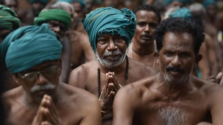 Tamilnadu farmers get rs 5, rs 6 compensation for crop loss