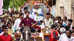 Dalit couple wedding precession in Uttar Pradesh after 80 years