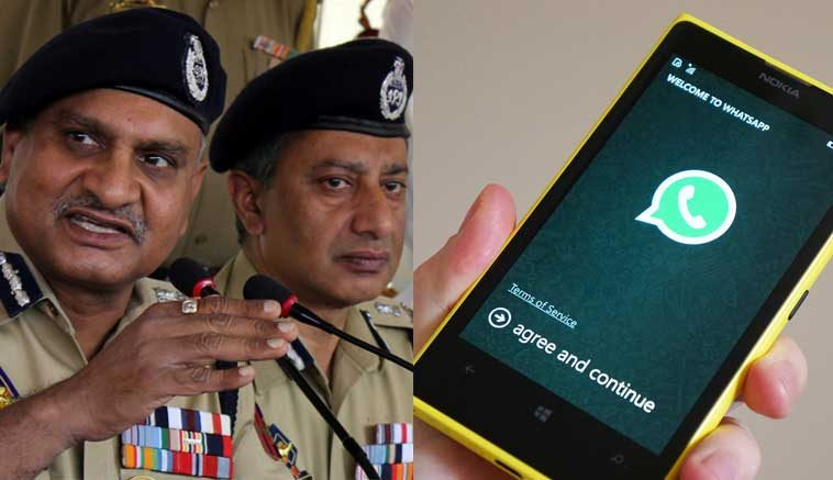 Police Approval Needed for Creating New WhatsApp Group in Kashmir