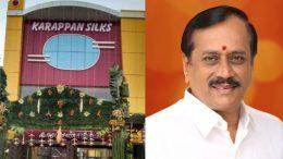 Benefit to karappan Silks by H Raja
