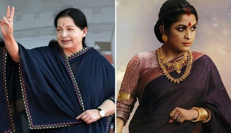 Jayalalithaa and ramya krishnan are the bold ladies